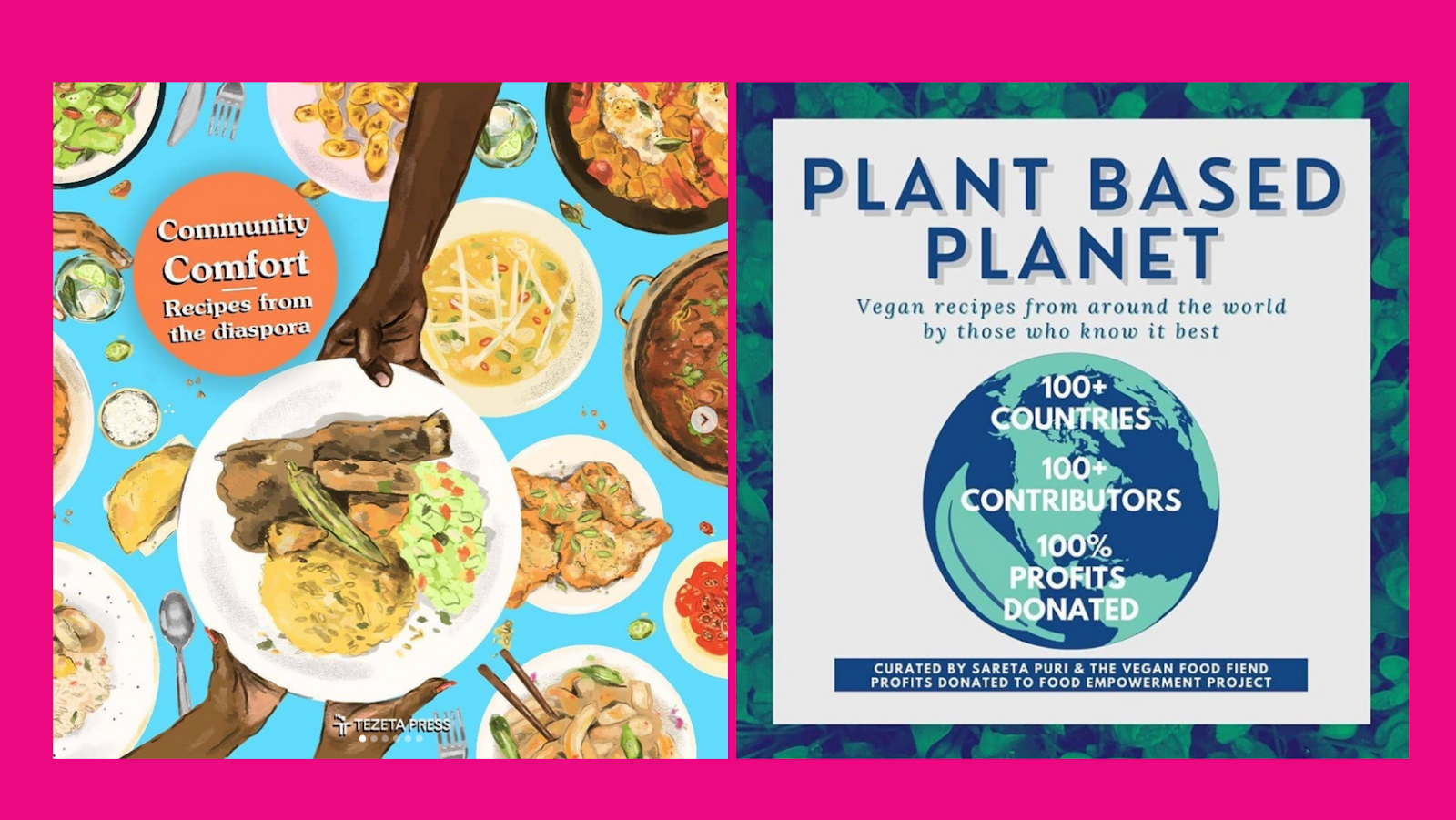 Community Comfort by Riaz Phillips and Plant Based Planet Book